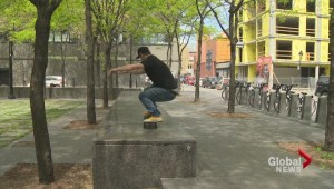 Skateboards on bike paths in Montreal?