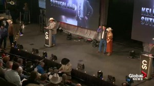 Calgary Stampede tarp auction signals uptick in economy