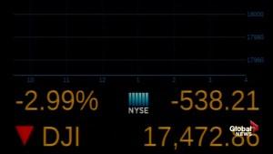 'Brexit' referendum sends New York Stock Exchange plummeting