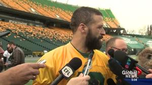 Edmonton Eskimos QB appears ready to play CFL East final
