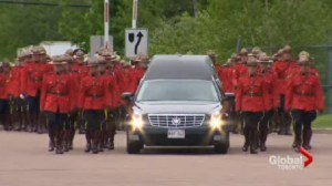 Thousands pay tribute to the RCMP's fallen three