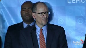Perez wins DNC chair, appoints rival Ellison as deputy chair
