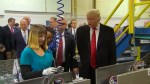 Trump continues to clash with union leader at Indiana Carrier plant