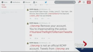 The right to remain tweetless