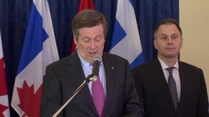 Mayor Tory talks about next steps following Austin, TX music business trip