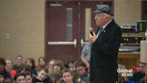 Holocaust survivor shares painful memories with Sask. students