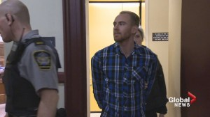 Taylor Samson's DNA found on items seized from Sandeson's apartment, murder trial hears
