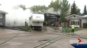 Southeast Edmonton home damaged by fire