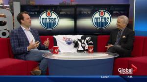 Lil' Oilers program pairs young hockey hopefuls with NHL veterans