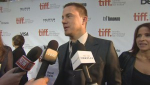 "TIFF Red Carpet: Actor Channing Tatum from the film ""Foxcatcher"""