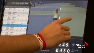 Calgary tennis centre offers state of the art technology to help your backhand, and more