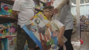 Dartmouth boy given $5,000 to spend on toys
