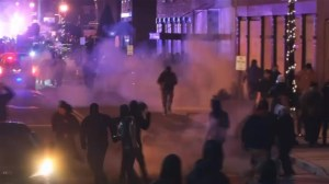 Ferguson businesses caught in crossfire of protesters and police