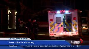 2 people killed in Calgary shooting
