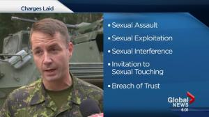 Canadian Forces officer charged with sexual assault