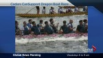 Dragon boating for a great cause