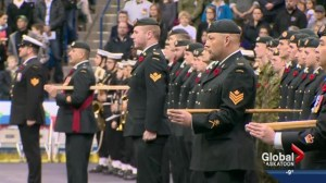 Record attendance at Saskatoon's Remembrance Day ceremony