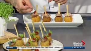 French cooking with Shaw Conference Centre's Chef Serge Belair