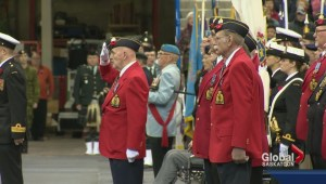 Remembrance Day unites generations of Canadians