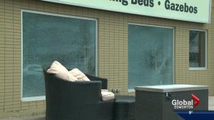 South Edmonton businesses hit by vandals