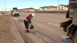 Potholes filled, street sweepers busy as Calgary does spring clean