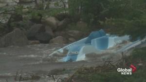 Alberta storm slams Lac Ste. Anne