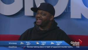 "Aries Spears making ""the coldest city on earth"" laugh"