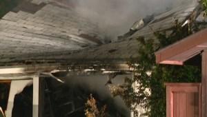Southeast garage fire