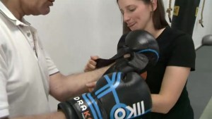Therapists now using boxing to treat Parkinson's