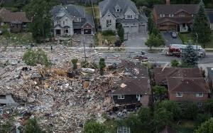 Mississauga house explosion property up for sale