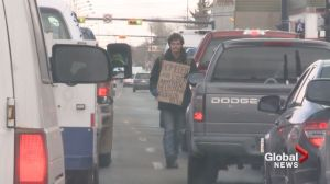 Begging for change: More panhandlers on Calgary streets?