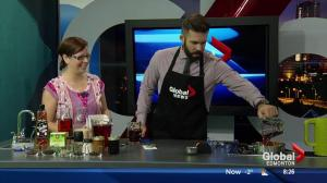 Cooking with tea in the Global Edmonton kitchen with Danika Riedel Pt. 1