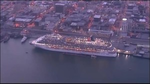 Cruise ship carrying nurse being monitored for Ebola symptoms returns