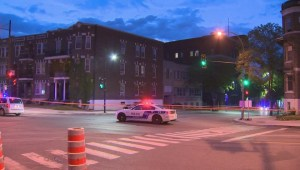 RAW: Pedestrian struck in downtown Montreal