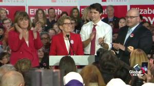 Kathleen Wynne talks why she's 'working so hard in this byelection' for Elizabeth Roy