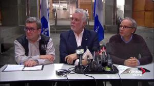 'No one is completely safe:' Quebec Premier on mosque shooting