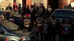 Funeral held for Hells Angels member