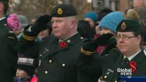 Remembrance Day in Edmonton: complete coverage