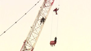 Toronto firefighter describes daring crane rescue, jokes about being 'volun-told' to climb up