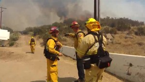 More evacuations as wildfires torch U.S. southwest