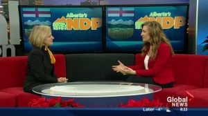 NDP leader Rachel Notley on floor crossings