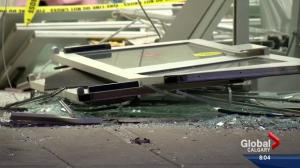 Winners damaged in smash and grab