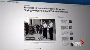 Baltimore police hand over Freddie Gray investigation results