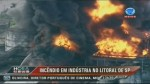 RAW: Massive fire breaks out in state of Sao Paulo, Brazil