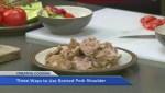 Three ways to use braised pork shoulder