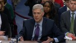 Gorsuch: 'Nobody is above the law in this country'