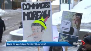 Quebec orders lawyers, notaries back to work