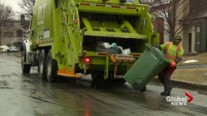 Pointe-Claire changes garbage pick-up schedule