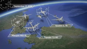 Russian military activity increasing in the Arctic