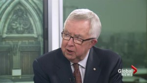 Former PM Joe Clark disappointed in Leitch's leadership bid